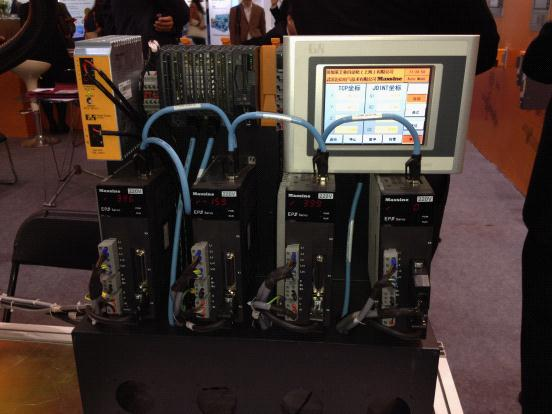 EP3E系列伺服驱动器亮相第47届全国制药机械展